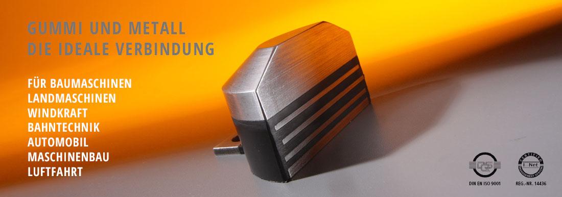 elastometall ottersweier gummi metall verbindungen gummipuffer. Black Bedroom Furniture Sets. Home Design Ideas